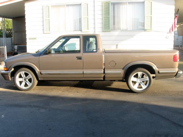 Chevrolet S10 Pickups For Sale - 92 Listings - SecondLifeTruck