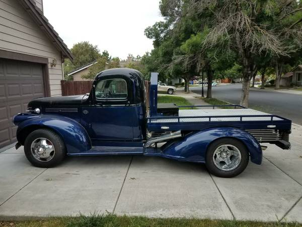 1946 Chevy Flatbed Truck For Sale Brentwood Oakley Ca