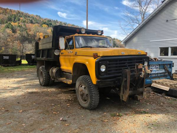 1979 Ford F600 4x4 Dump/Plow Truck For Sale, Hancock NY