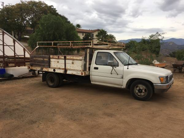 Toyota Flatbed Trucks For Sale - 7 Listings - SecondLifeTruck