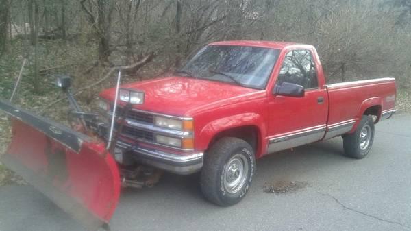Chevrolet K3500 Plow Truck - Spreader Trucks For Sale - 3 Listings
