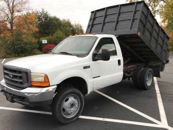 F450 Dump Truck For Sale >> Ford F 450 Dump Truck Low Miles For Sale Carmel In
