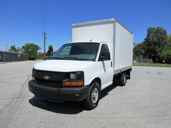 Chevrolet Express Box Trucks For Sale 48 Listings Secondlifetruck