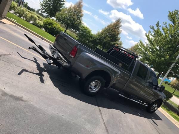 03 Ford F350 Repo Tow Truck For Sale Aurora Montgomery Il