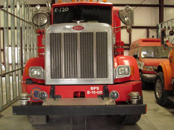 2002 Peterbilt 357 6x6 Fire truck Custom Build ,Very Rare