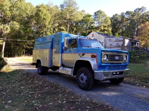 Huge Diesel Service Tool Truck 1990 Chevy C60 Air Brakes