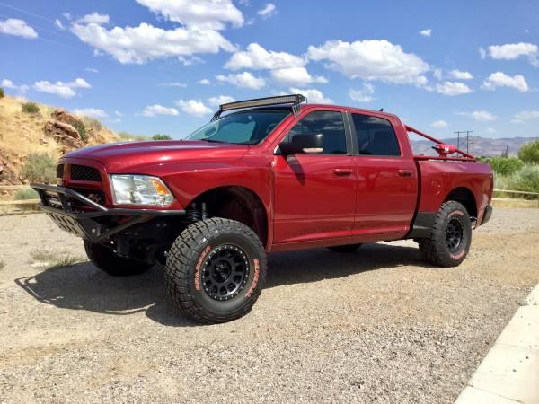 Dodge Ram Runner >> 2014 Dodge Ram Ramrunner 4x4 Custom Trick Pre Runner Pickup