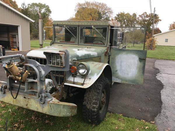 1953 Dodge M37 Heavy Duty Truck with Plow -Beast of a Truck for Sale