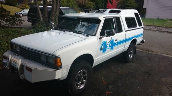 1984 Nissan - Datsun 720 pickup for Sale, Lynnwood WA