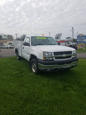 Chevrolet Silverado 2500 Utility/Service Trucks For Sale - 10 Listings - SecondLifeTruck