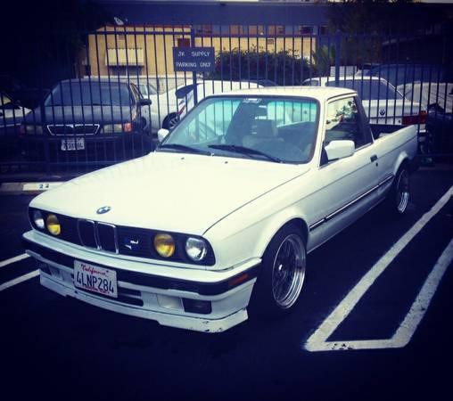 BMW E30 Custom Pickup Truck For Sale, Burbank /Glendale CA