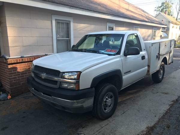 Chevrolet Silverado 2500 Utility  Service Trucks For Sale