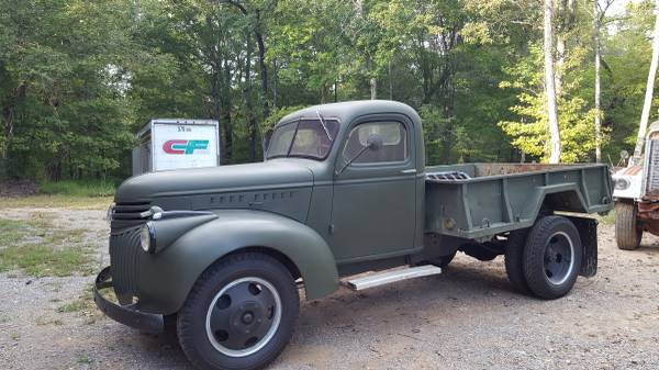 1942 Chevy military truck for Sale, Clarksville tn TN