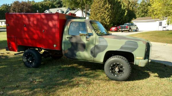 Chevrolet Military Trucks For Sale - 23 Listings - SecondLifeTruck