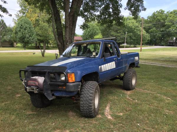 1985 Toyota Pickup 4x4 >> 1985 Toyota Sr5 Pickup 4x4 22re 4 Cylinder 5 Speed For
