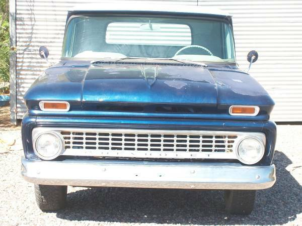 1963 chevy fleetside truck