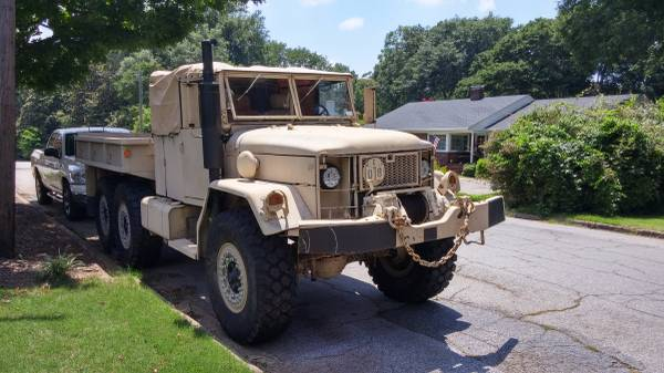 M35a2 deuce military cargo truck army w/ winch off-road for Sale