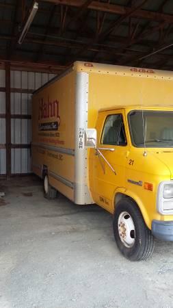 1989 and 1994 GMC Van Vandura 3500 Box Truck for Sale