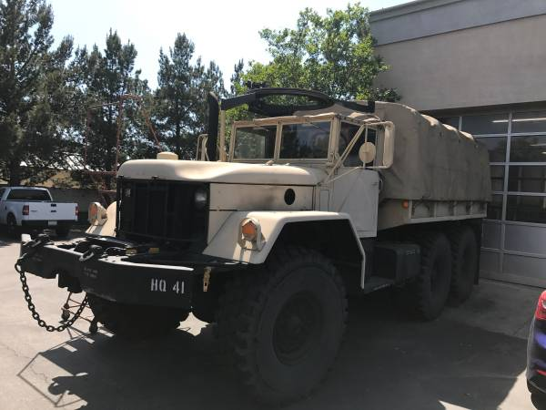 M813 5 ton M35A2 Military truck for Sale, Rancho Cucamonga CA