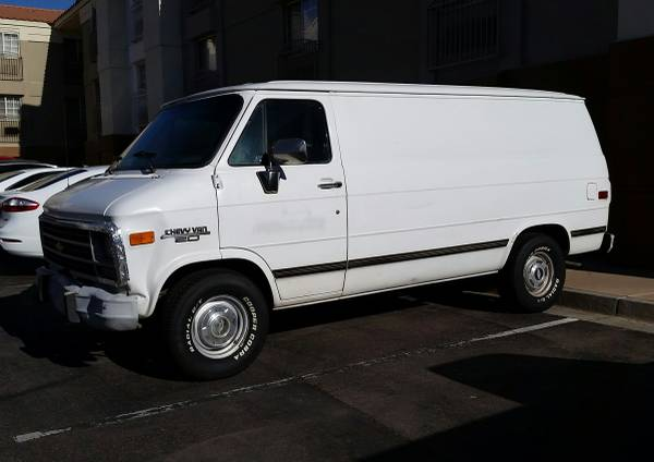 Chevrolet G20 Cargo Vans For Sale - 8 Listings - SecondLifeTruck