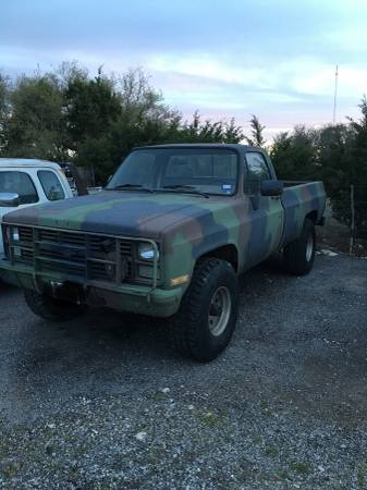 Chevy Military Trucks For Sale >> Chevrolet Military Trucks For Sale 23 Listings