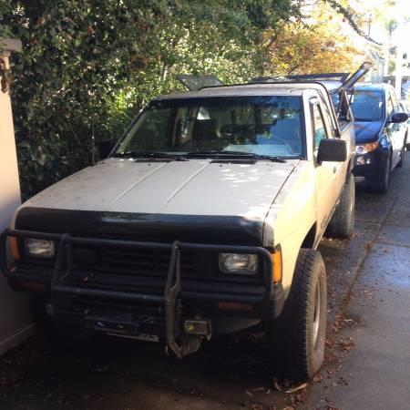1986 Nissan D21 4x4 Pickup Extra Cab for Sale, santa cruz CA