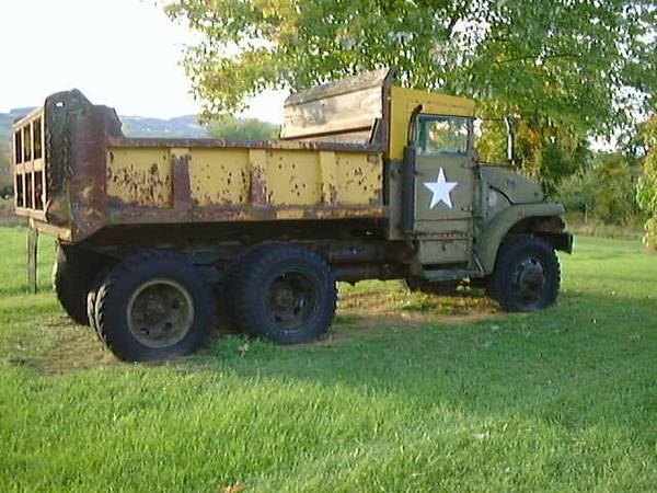 MILITARY 6X6 2-1/2 TON M215 DUMP TRUCK W/PARTS for Sale, Deansboro NY