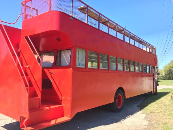 Double decker bus/food truck for Sale, Austin TX