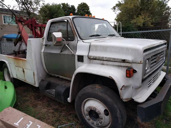 1979 Chevy C60 Wrecker Tow Truck For Sale Lebanon Or