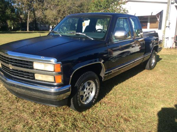 1993 Chevy Silverado Step Side Extended Cab Super Clean