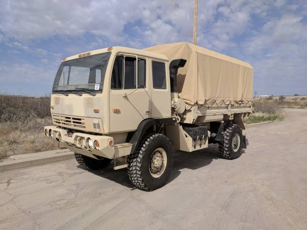 Military Trucks For Sale - 186 Listings - SecondLifeTruck