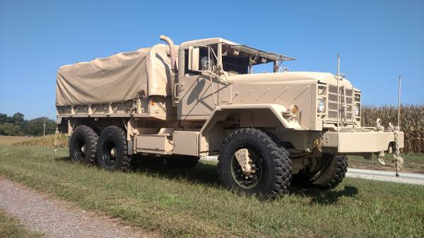 1991 BMY M925A2 6x6 Military 5 ton truck  for Sale, Charlotte NC