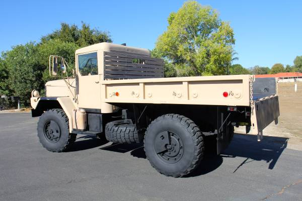 Military M35a3 Bobbed Truck For Sale Murrieta Ca