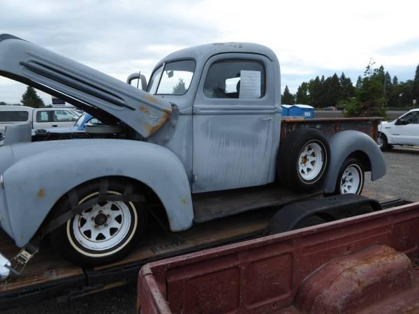 1947 Ford F 1 Stepside Pickup Truck For Sale Medford Or