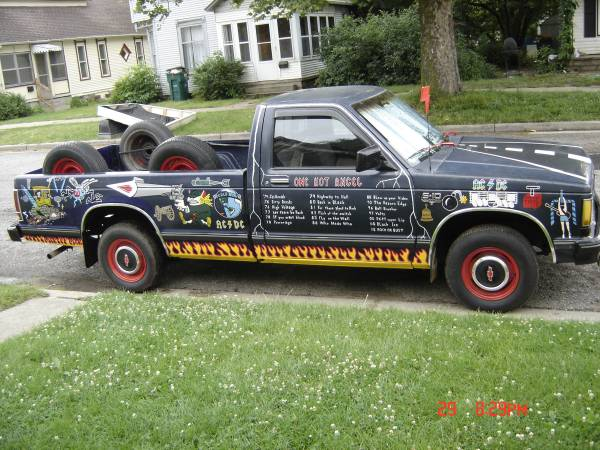 1985 S15 or S10 GMC LONGBOX AC/DC PICKUP TRUCK 2 8L AUTO for