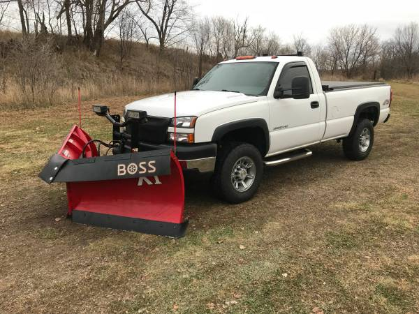 2006 Lbz Duramax Plow Truck For Sale St Croix County Mn