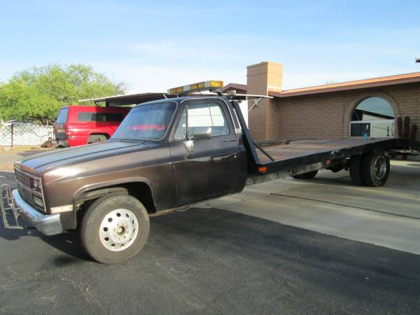 Surprising 1974 Chevy Tow Truck Flatbed Price Lowered For Sale Tucson Az Andrewgaddart Wooden Chair Designs For Living Room Andrewgaddartcom
