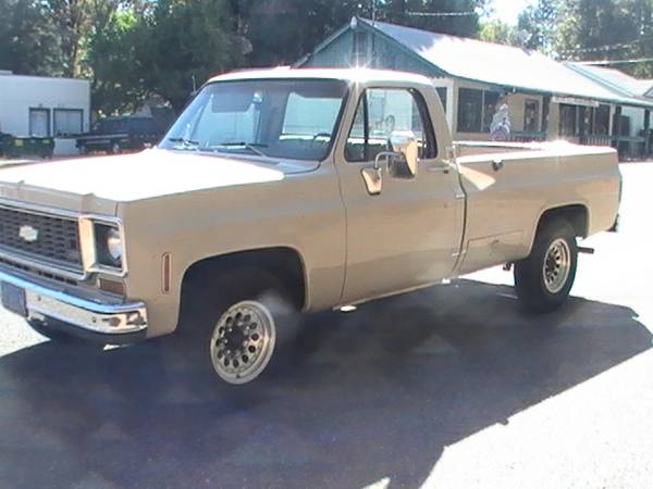73 Chevy C20 3 4 Ton Longbed For Sale Redding Area Ca