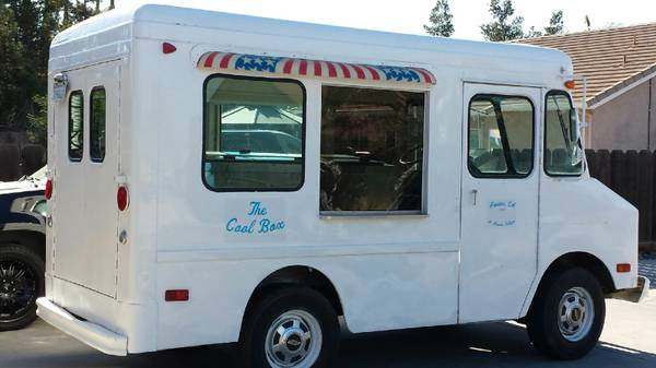 1977 original chevy p20 ice cream truck for sale  atwater ca
