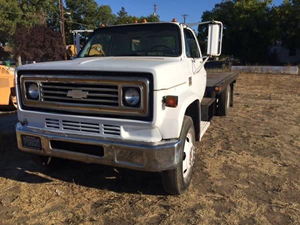 1997 Chevy Silverado For Sale >> 1976 chevy c60 slide deck tow truck new carb pass smog for Sale, Corning CA