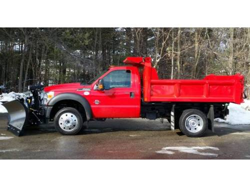 Ford F 550 For Sale >> 2016 Ford F-550 F550 XLT 4X4 Dump Truck for Sale, Berlin NH