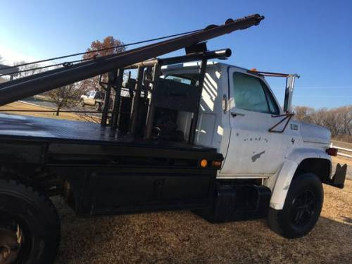 Trucks For Sale In Dallas >> Chevy gin pole truck for Sale, Blackwell KS