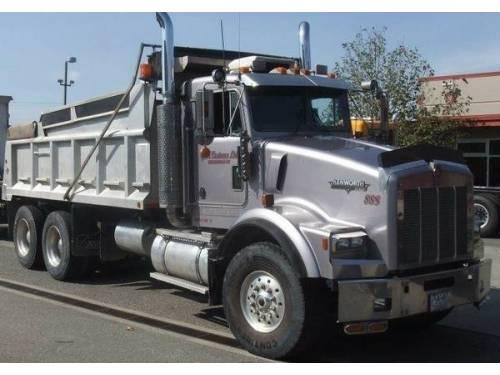 Amazing 2007 Kenworth 4 Axle Dump Truck For Sale Katy Tx