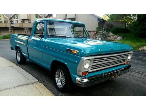 1970 f100 ford pickup for sale fountain hills az. Black Bedroom Furniture Sets. Home Design Ideas