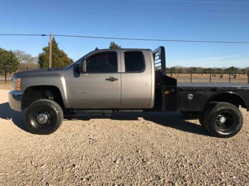 Lifted Trucks For Sale In Texas >> 2007 Chevrolet Silverado 3500 4x4 Texas truck LIFTED flatbed Duramax for Sale, Dallas TX