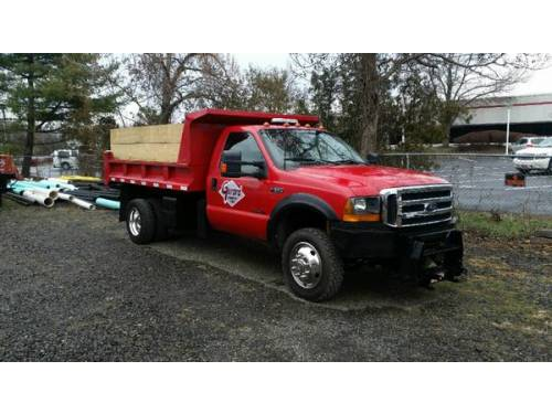 Exhaust Leak Repair >> Ford F550 Dump Truck 4x4 auto diesel for Sale, Bristol PA